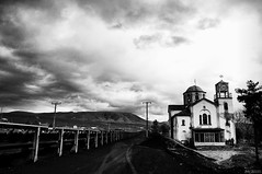 Silent Hill (McHeras) Tags: abandoned church greek temple nikon mine silent village time hill greece macedonia mines coal nikkor vr stopped 18105 d90 f3556  lignite 3556 kozani ptolemaida        18105vr  charavgi