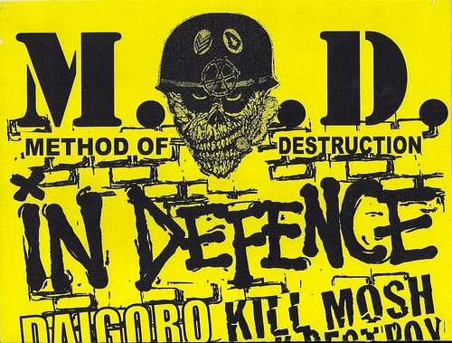 03/14/08 M.O.D/In Defence/Daigoro/Kill Mosh Destroy @ St. Paul, MN (Top)