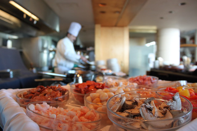 Friday Afternoon Pasta Buffet at the Pan Pacific Vancouver