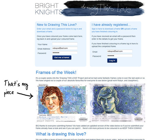 2.18 Drawing THIS LOVE - Drawing of the Week