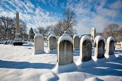 Laurel Hill Cemetery - Philadelphia (Jackpicks) Tags: winter snow philadelphia cemetery hill laurel wintersky laurelhillcemetery platinumheartaward gpsetest