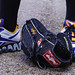 R.A. Dickey's Shoes and Glove