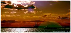 Lady Liberty (BhushaNYC) Tags: sky newyork gothamist statueofliberty