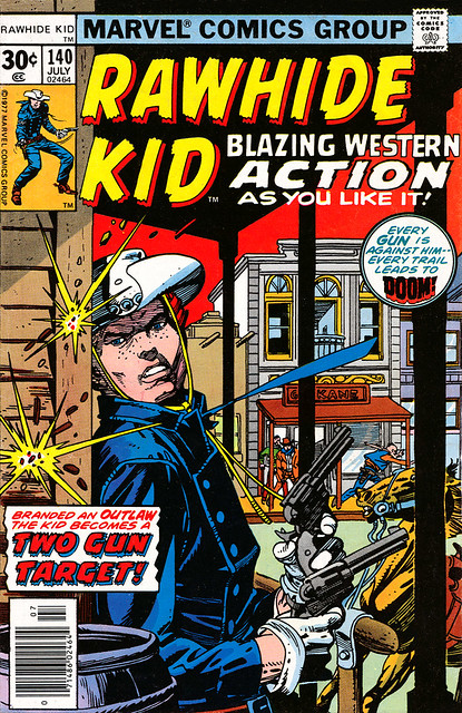 Rawhide Kid 140 1977 cover by Gil Kane