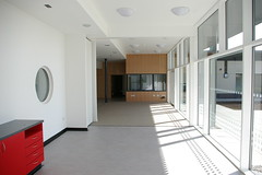 View Of Nurses Base From Living/Dining Areas