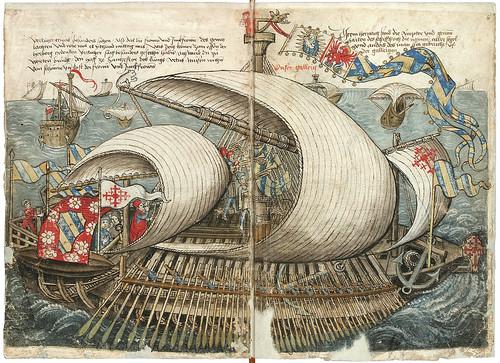 001-Galera-Konrad von Grünenberg- Beschreibung der Reise von Konstanz nach Jerusalem 1487- © 2010 Badische Landesbibliothek