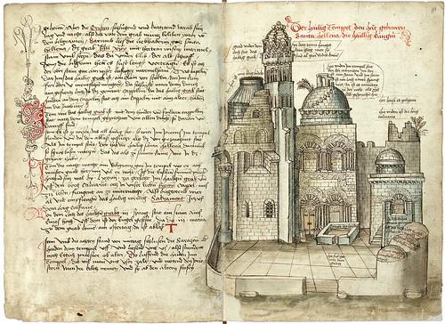 003-Santo Sepulcro-Konrad von Grünenberg- Beschreibung der Reise von Konstanz nach Jerusalem 1487- © 2010 Badische Landesbibliothek