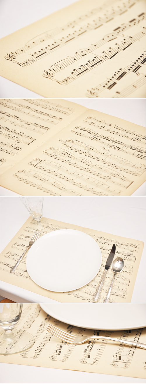 Music-Sheet-Placemats