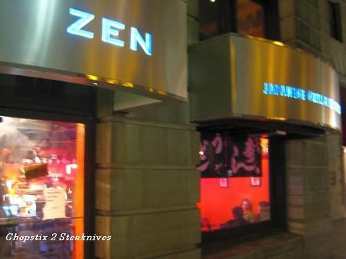 Zen sushi Bar