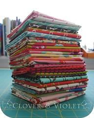 Wonderland Fat Quarters (Clover & Violet) Tags: momo moda wonderland