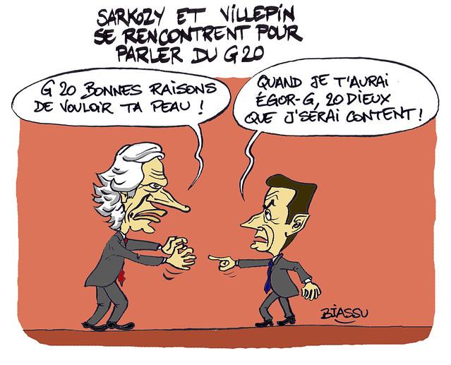 Sarkozy Villepin