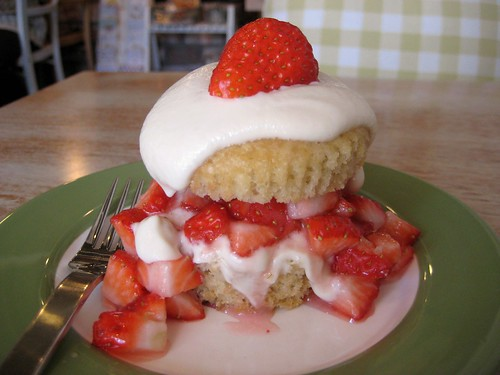My Vegan Strawberry Shortcake at Haru!