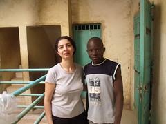 Avec Shumy, orphelin parrainé depuis un an. Excellent élève, malgrès sa situation très difficile.!