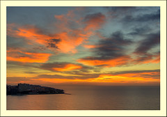 Well (jin_nando) Tags: ocean morning sea sky orange sun clouds mar twilight cabo nikon san juan playa alicante amanecer cielo nikkor naranja madrugada oceano brisa 2011 nimbostratus d40