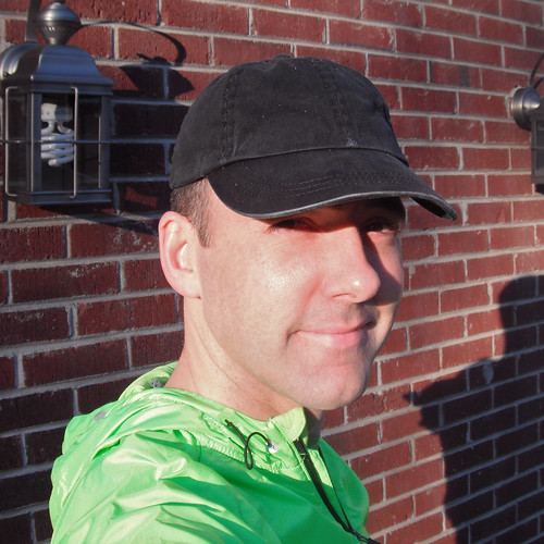 Brian at the Charleston Marathon, 2011