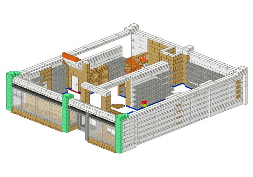 Work In Progress - LEGO® 'Loyds Toys' Toy Shop Ground Floor Design