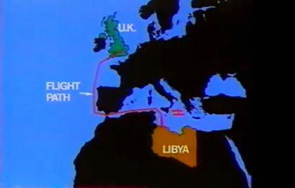 11b29 Operación Bombardeo de Libia 15 abril 1985