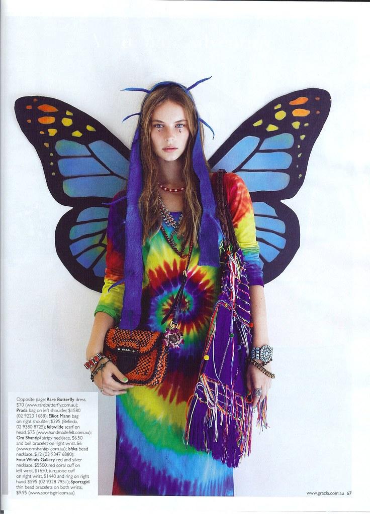 Grazia Magazine Dress
