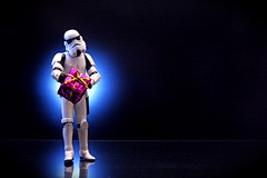 Death Star / Birth Day (JD Hancock) Tags: birthday favorite trooper black reflection fun toy actionfigure star starwars action cc gift figure happybirthday scifi stormtrooper present wars 1k february24 inkitchen ntos jdhancock lifeonthedeathstar