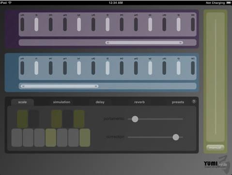 iPadバイオリン・アプリ「YUMI:synth」がリリース!
