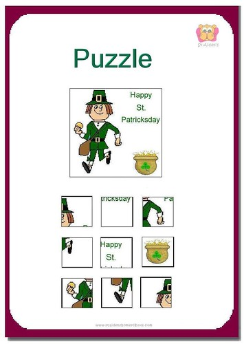 St Patrick's Day Puzzles and Mazes