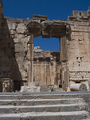 The Temple of Bacchus at Baalbek (V) (isawnyu) Tags: lebanon rome building history stone architecture temple ancient gate roman masonry structure bacchus civilization entry baalbeck baalbek conna pleiades:depicts=668231