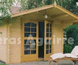 Maderas aguirre varios casetas de madera caseta de jardin armentia a - Maderas aguirre ...