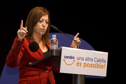 Presentació de Montserrat Candini Cap de Llista per les Municipals 2011