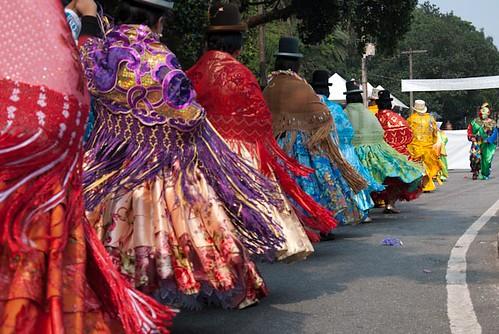 Bloco de carnaval boliviano