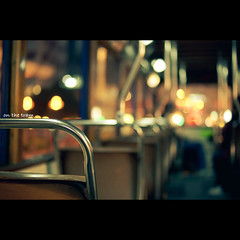 (jim_213) Tags: light bokeh seat sony tram a55 sal35f18