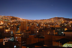 La Paz, Bolivia - Above the roofs by GlobeTrotter 2000