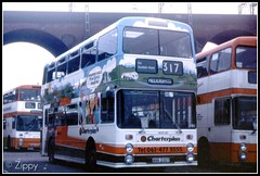 Charter Charterplan (Zippy's Revenge) Tags: bus manchester transport advertisement stockport advert standard busstation leyland gmt greatermanchester atlantean 8230 northerncounties ncme charterplan ana230t