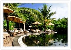 Wish it was my backyard! (Prof EuLOGist) Tags: sun house beach pool bar swimming bed hilton resort collection haa atoll jinan hussain alif