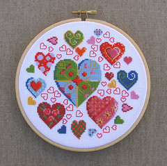 Hearts (Hartjes) Hoopla (Made by BeaG) Tags: hoopla circle hearts crossstitch handmade embroidery whitebackground fabric round colourful kleurrijk cirkel rond ada hartjes borduren borduurwerk harten stof embroidering handgemaakt heartsgalore kruissteek witteachtergrond madebybeag gemaaktdoorbeag designesbydmc ontwerpenvandmc heleboelhartjes