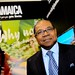 The Hon Edmund Bartlett, Minister of Tourism for Jamaica, at ITB Berlin 2011