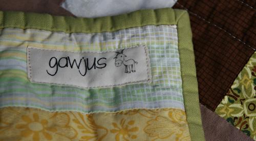 gawjus label