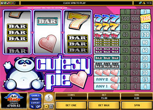 Cutesy Pie slot game online review