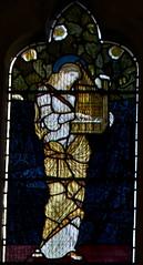 St Cecelia (IanAWood) Tags: london raw stainedglass williammorris putney allsaintschurch churchwindows churchofengland morrisco d3x siredwardburnejones walkingwithmynikon nikkorpce24f35 surreychurches