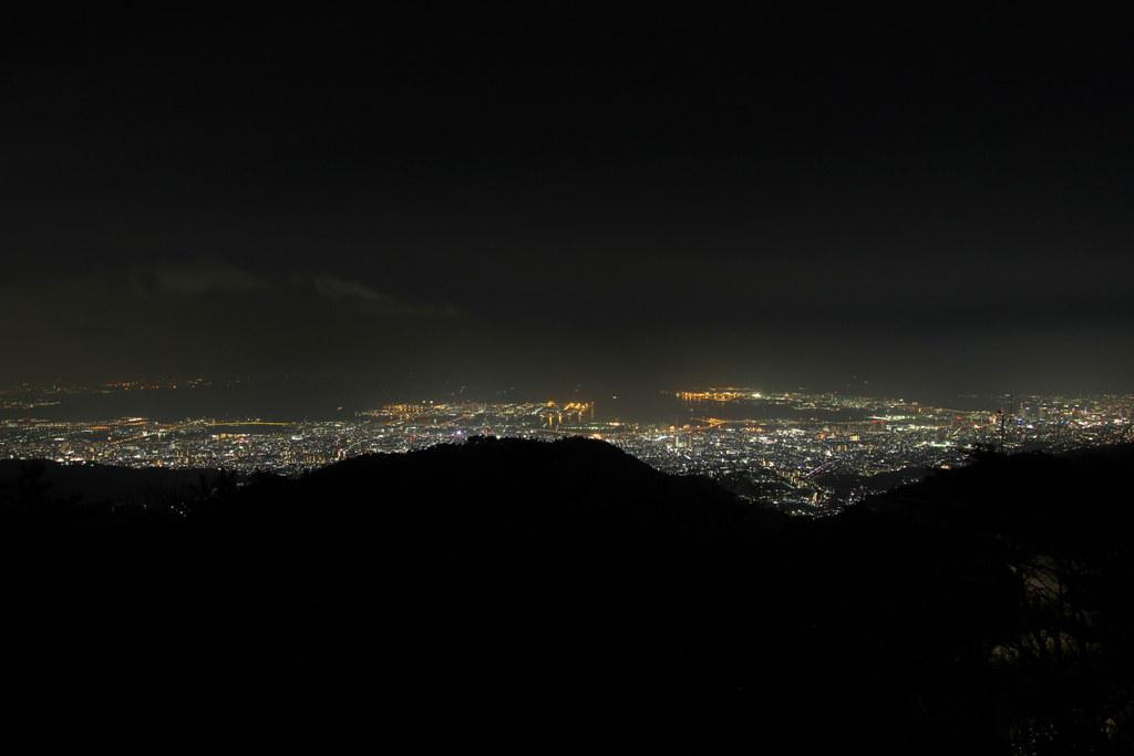 Rokkosan Night View Photo (1)