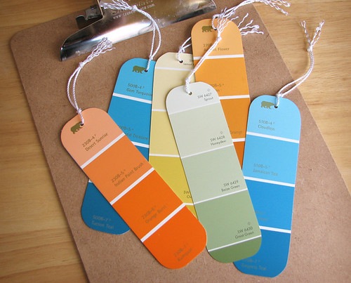 Paint Chip LL - Bookmarks