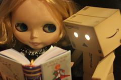 Claire e Danbo (Lia Lune) Tags: blythe pp danbo pinaforepurple revoltech danboard