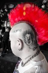 Mohican (Jacquie Akroyd Photography) Tags: uk red man west rock tattoo bar photography pub nikon punk photographer yorkshire gig leeds band bob tattoos punkrocker rocker sexpistols mohican sidvicious tattooed uksubs guttersluts d7000 nikond7000 rattesalat jacquiegibson jacquiegibsonphotography jacquieakroydphotography jacquieakroyd