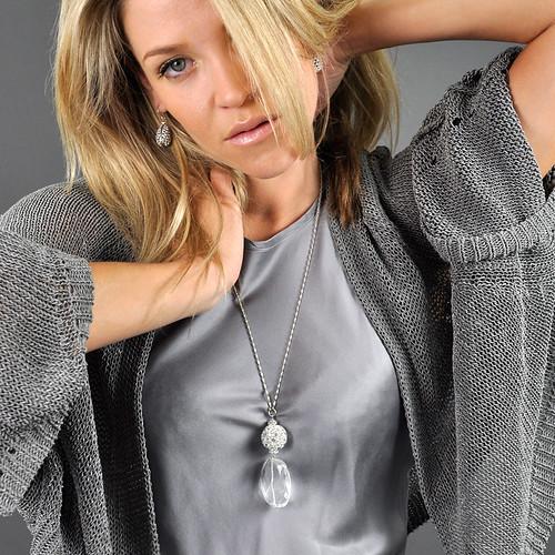 molly sims diamond bikini photo. Molly Sims Faceted Crystal