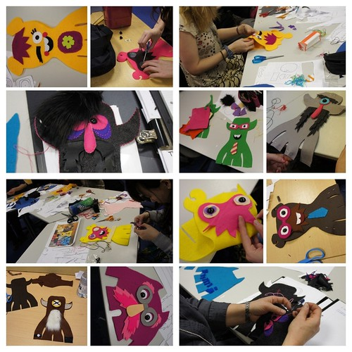Workshop- Glyndwr University by Felt Mistress