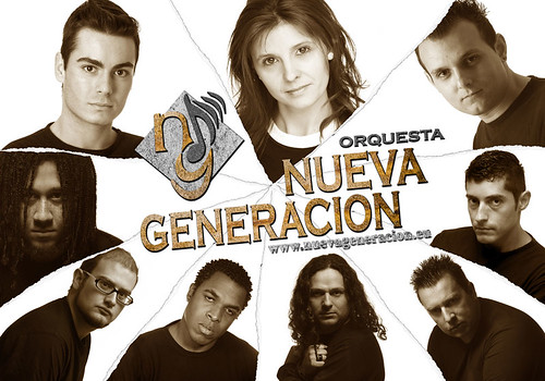 Nueva Generación 2011 - orquesta - cartel