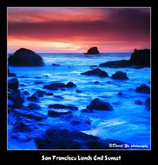 San Francisco Lands End Sunset (davidyuweb) Tags: sanfrancisco california sunset usa san francisco no wave here tsunami end lands sfbay sfist