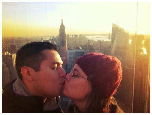 Kiss a the Top of the Rock