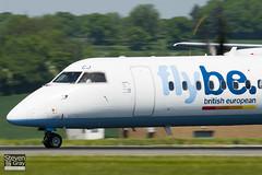 G-JECJ - 4110 - FlyBe - De Havilland Canada DHC-8-402Q Dash 8 - Luton - 100524 - Steven Gray - IMG_2590