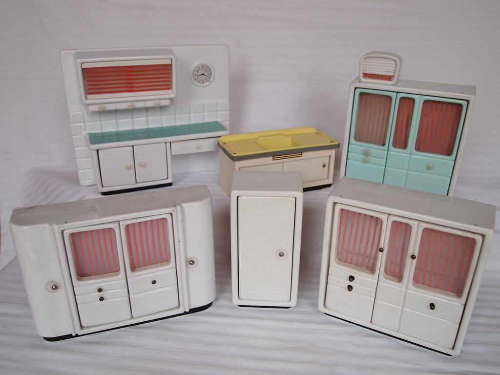Eitelkeit Küche Vintage Beste Wahl 1957 Crailsheimer Plastic Kitchen (diepuppenstubensammlerin) Tags: Old