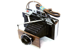 polaroid modification 114mm lens (Zowis Camera) Tags: lens polaroid wooden mo copal 114mm taminon